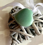 Daily Dose of Love by Helena - Small Aventurine Meditation Heart