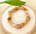 Self Healing, Powerful Cleanser and Regenerator - Citrine Tumbled Bracelet