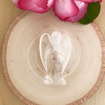 Clearing, Healing, Rejuvenation, Protection - Crystal Quartz Angel