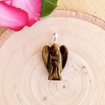 Daily Dose of Love by Helena - Tiger's Eye Protection Angel Pendant