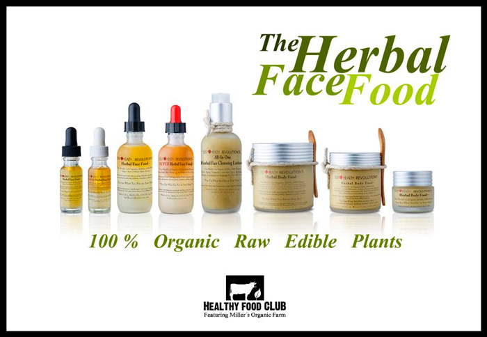 Feed Your Skin: 100% Organic Herbal Face & Body Products