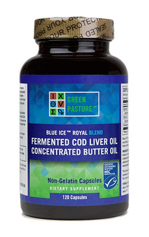 CAPSULES Royal Blend Fermented Cod Liver Oil & Butter Oil 120 Caps