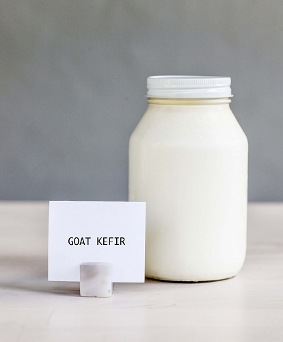 *Goat Kefir (Glass) Quart