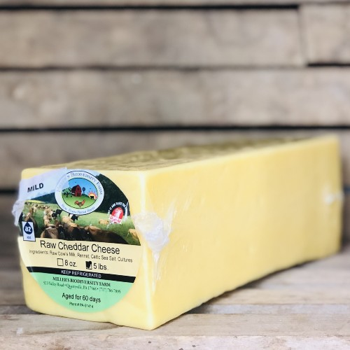 Big A2 Mild Cheddar Cheese Block (Avg. 5 lb.)