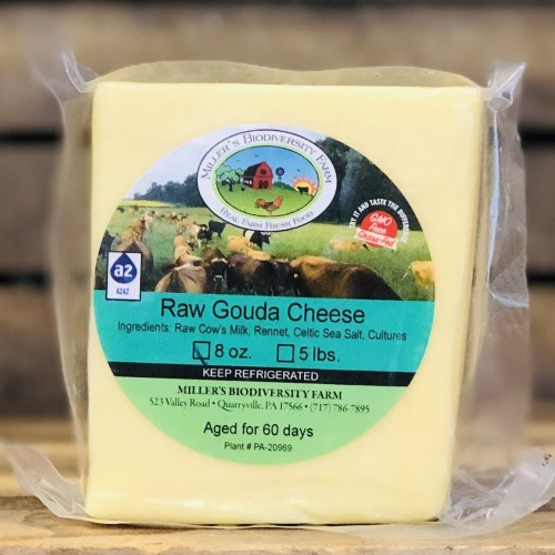 A2 Fresh Gouda Cheese, 8oz