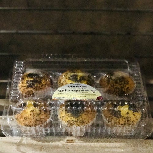 Lemon Poppy Gluten-Free Muffins, 6-pack