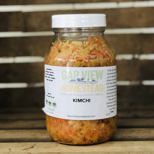 Kimchee, 1 quart (Glass)