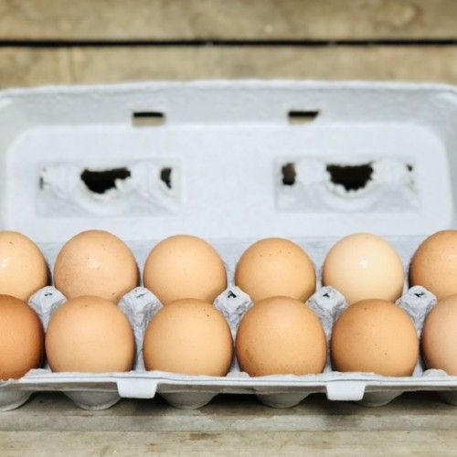Brown Soy-Free Chicken Eggs, 1 dozen