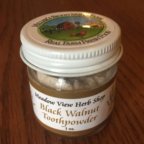Black Walnut Tooth Powder, 1oz
