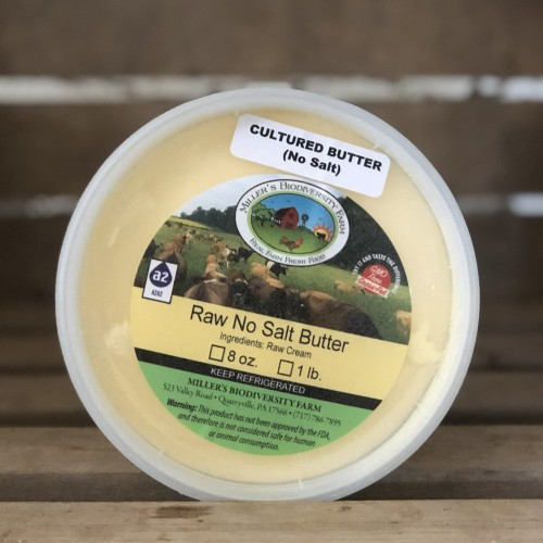 Cultured Unsalted A2 Butter, 1lb