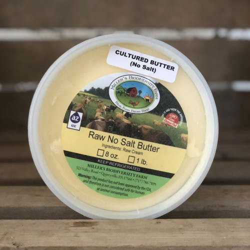 Cultured Unsalted A2 Butter, 8oz