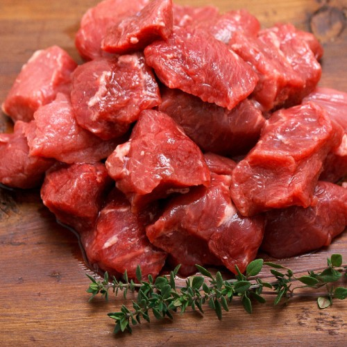 Beef Cubes for Stew, 20 pack (Avg. 20 lb.)