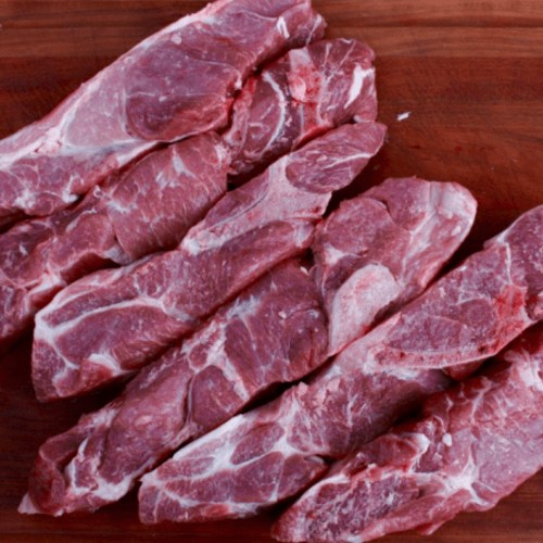 Pork Country Spare Ribs., 10 pack (Avg. 13 lb.)