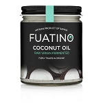 FUATINO Fermented Raw Virgin Non GMO Coconut Oil - Organic Wet Milled