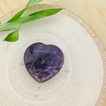 Tranquility and Protection - Small Amethyst Meditation Heart