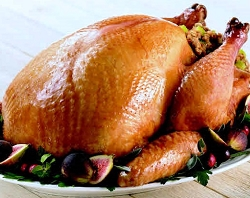Half Organic Pastured Turkey (fed Non soy)