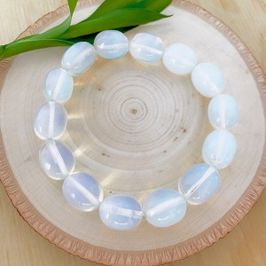 Free the Spirit, Growth, Intuition - Dream to Grow Opalite Enchanting Tumbled Bracelet
