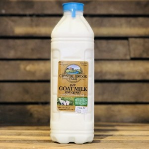 Goat Milk, 1/2 gallon