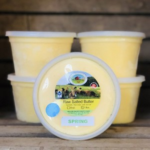 100% Spring Grass Salted A2 Butter, 5lb
